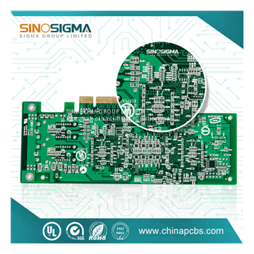 8 layers Blind Buried Via Printed Circuit board with customized pcb