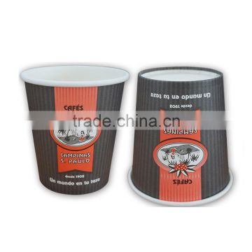 Recycled wholesale pe coating cheap ripple cups