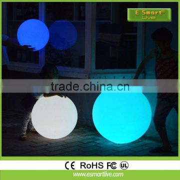 LED furniture hot sale remote control illuminated 16 color change high gloss white dining table set with aluminum base