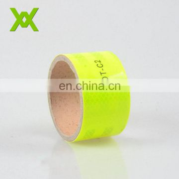 High Intensity Prismatic waterproof dot c2 reflective tape for vehicle