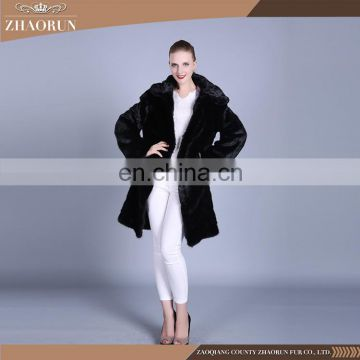 011c07c02 Hot Sell 2016 New Products hooded black mink fur coat women fur garment mink  fur of Others from China Suppliers - 157689790