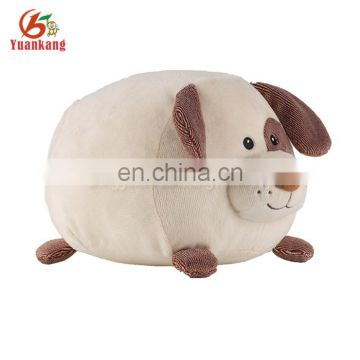 Custom cute fat plush dog stuffed soft toy