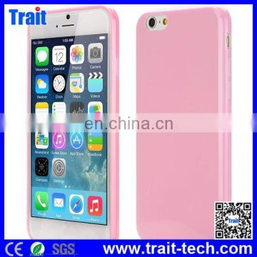 Slim Smooth Flexible Precise Cutouts Solid Color TPU Case for iPhone 6 Plus 5.5 inch