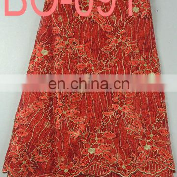 embroidery organza fabric for garment(BO-087)