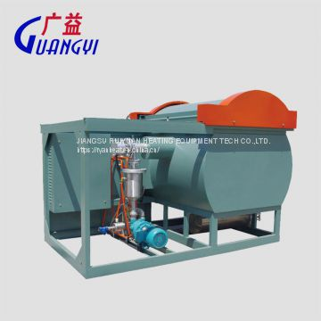 vacuum cleaning furnace for clean extrusion tool and spin pack