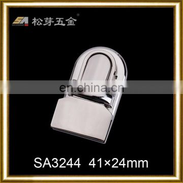 High quality customized color & size metal clasps for bags