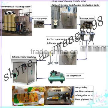 1L clothing detergent /washing liquid filling packing machine /stand up pouch filling machine