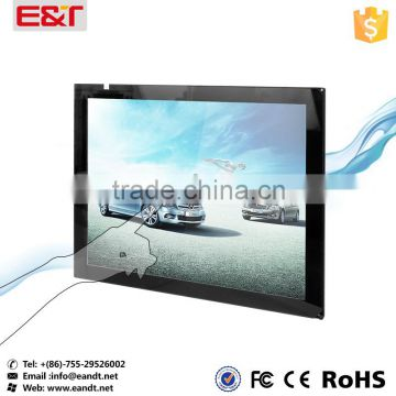 "23"" USB interface IR touch screen frame waterproof/anti-glare infrared touch panel for kiosk/digital signage/vending machine"