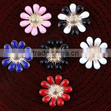 Retro floret diamond sell like hot cakes Daisy disc set auger accessories DIY accessories