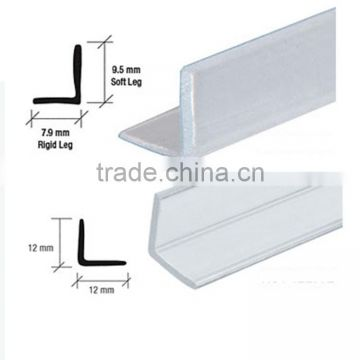 High Quality Waterproof Shower Door Pvcepdm Seal Rubber Strip For