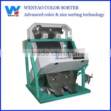 2 chute Color CCD Camera calcium carbonate color sorter/color sorting machine manufacturer