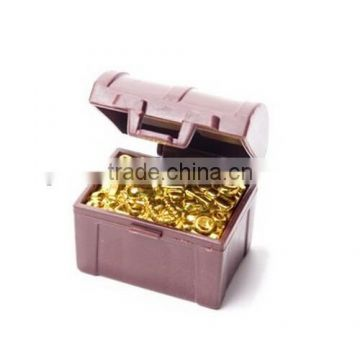 custom make small plastic treasure box,OEM plastic mini plastic treasure chest
