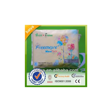 280mm Ultra thin super absorbent cotton Sanitary pad