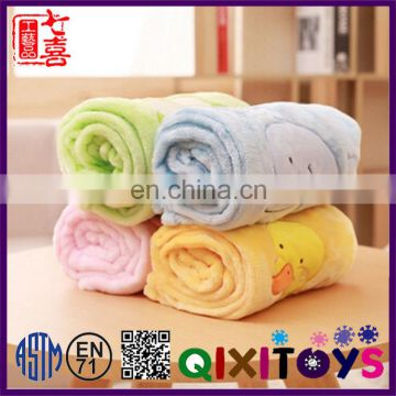 Wholesale Custom Cute children cartoon blanket Design your own cute embroidery blankets