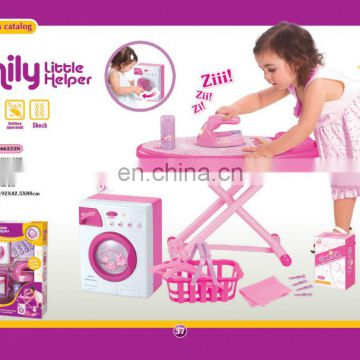 N+ Electric Washing Machine Toy,Plastic Washing Machine With Light/Music SF197481