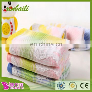 wholesale well sale 34*34 creative 100 cotton good for children towel