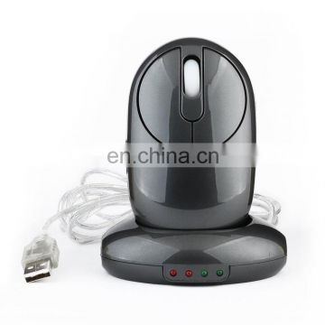MZ-012 2.4G 1200 DPI Wireless Rechargeable Optical Mouse with 3 Ports USB HUB / Charging Dock gaming mouse