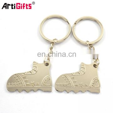 Wholesale Promotion Custom Design Your Own Metal Magnetic Angel Pair Keychain Couple
