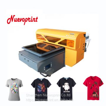 2018 best fast apparel printer dtg tshirt printing machine for sale NVP4880