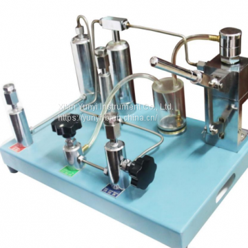 Y061pneumatic pressure calibrator handheld test pump