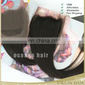 virgin hair brazilian hair weaving closures lace closures