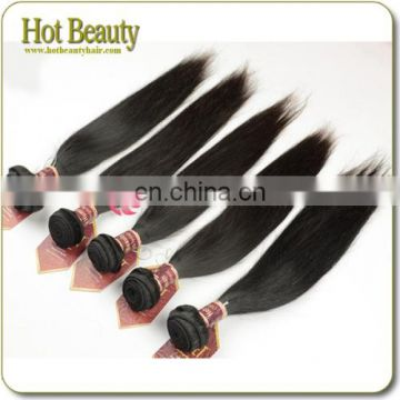 Cheap price indian remy yaki hair extensions thick straight