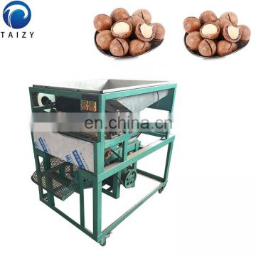 Automatic Commercialmacadamia nut shell charcoal macadamia nut cracker macadamia shelling machine