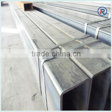 low price Galvanized square steel pipe/tube made in HeBei China