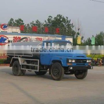 fecal suction truck with 5500L