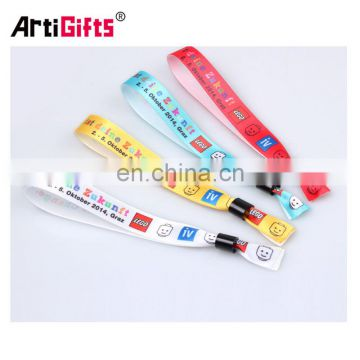 Gold supplier 100% quality control fashional satin wristbands