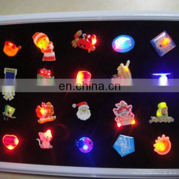 High quality LED Valentine's Day heart badges