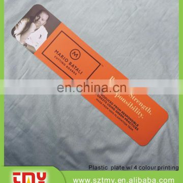 Soft pvc label tag for backpack and clothing
