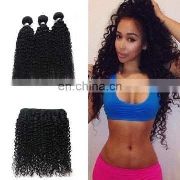 8A virgin hair kinky curly brazilian human hair extension