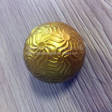 Custom Printed Best Quality Metal Golf Ball Gift Ball