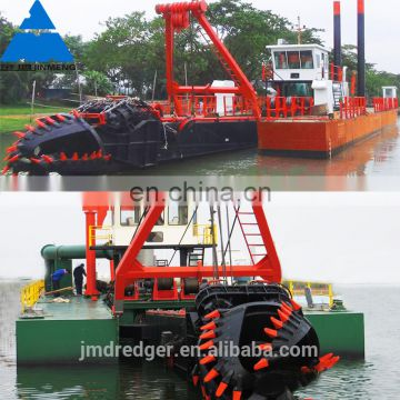 7000m3 China High Capacity Sand Dredger with Cutter Head Suction Dredger for river/sea sand dredging