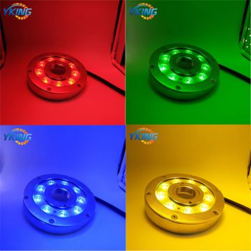 316L Stainless Steel 9W/27W Single Color/ RGBV+ IP68 Waterproof Underwater LED Fountain Light