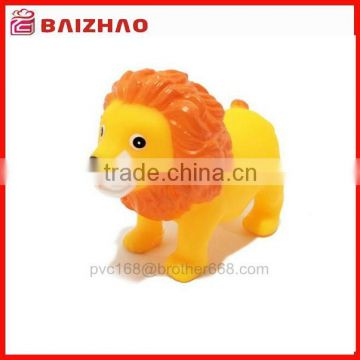 cute rubber plastic lion baby bath toy,squeeze baby bath toys with sound                                                                         Quality Choice