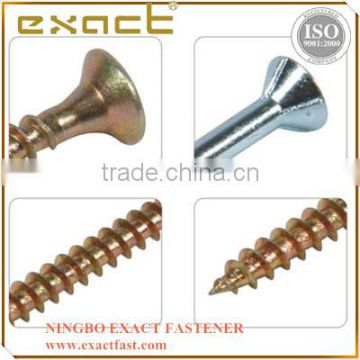 Hot selling carbon steel stainless steel galvanized chipboard screw