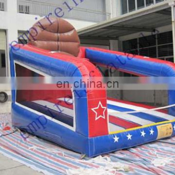 inflatable basketball game for sale,outdoor inflatable games NS012
