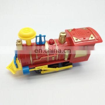 Electric track train toy with light and music christmas gift for kids