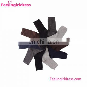 Casual Wearing 5PCS Plain Color Mens Custom Wholesale Socks