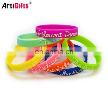 Professional cheap italy silicone wristbands