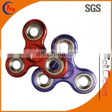 Factory price 608rs bearings metal color fidget hand spinner toy