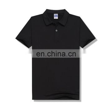 Factory Wholesale Sublimation Sports Blank White Polo T-shirt for Men