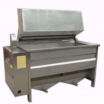 Peanuts , Green Beans Food Frying Machine 24kw