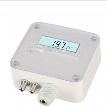 Aluminum gas differential pressure transducer