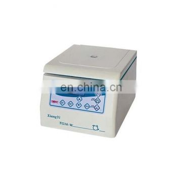 TG16-W desktop micro high-speed centrifuge