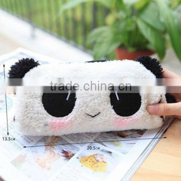 Creative plush pencil bag/ pen bag/cosmetic bag