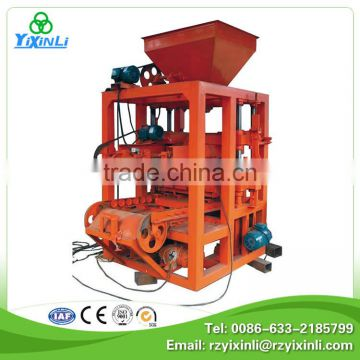 price list of concrete block making machine price in
