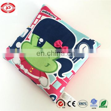 Full printing clear pattern quality soft mika new design pillow